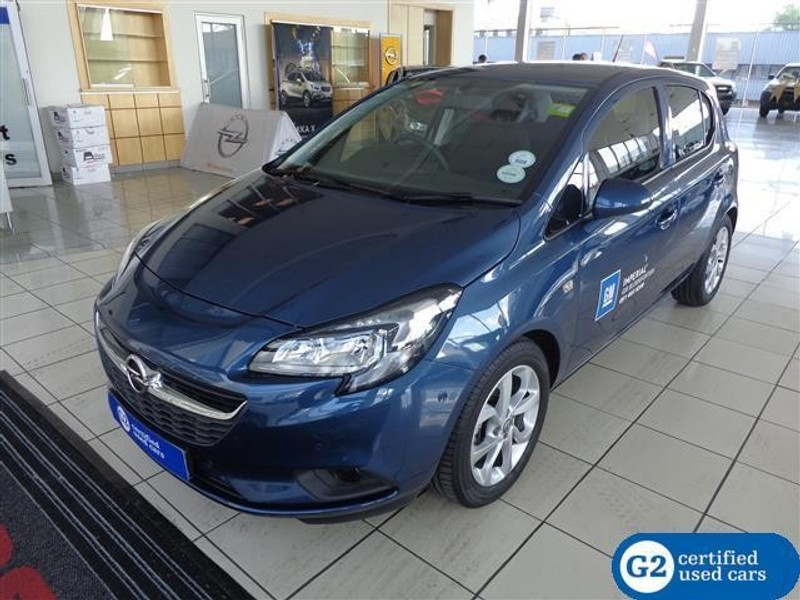 used opel corsa 1 0t enjoy 5 door for sale in free state. Black Bedroom Furniture Sets. Home Design Ideas