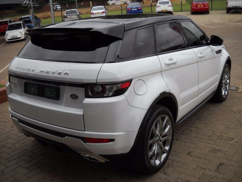 used land rover evoque range rover evoque 2 2 sd4 dynamic 5dr auto for sale in gauteng. Black Bedroom Furniture Sets. Home Design Ideas