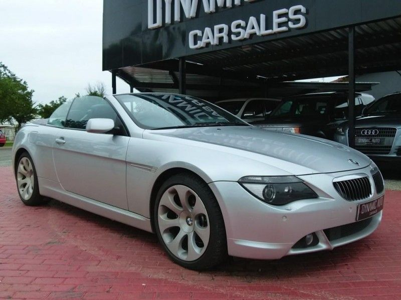 used bmw 6 series 650i convertible a t e64 for sale in north west province id. Black Bedroom Furniture Sets. Home Design Ideas