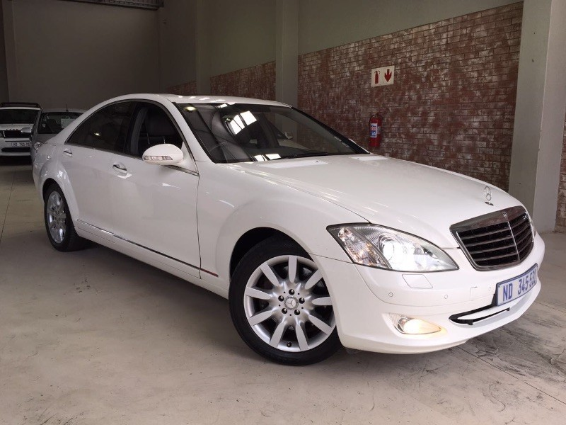 Used mercedes benz s class s500 low kms all extras white for White s550 mercedes benz for sale