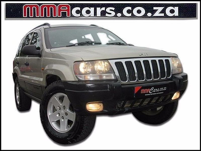 used jeep grand cherokee 4 7 v8 laredo for sale in kwazulu natal id 1840183. Black Bedroom Furniture Sets. Home Design Ideas