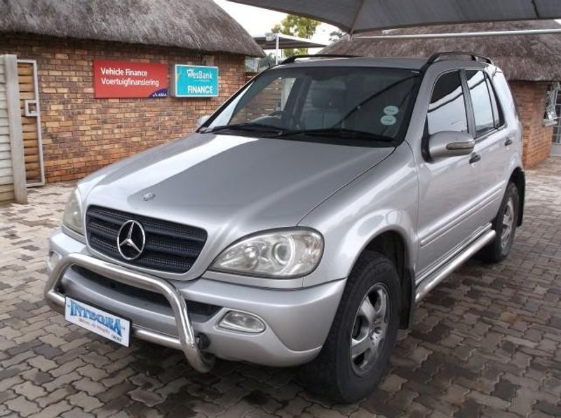 used mercedes benz m class ml 270 cdi f l for sale in gauteng id 1846477. Black Bedroom Furniture Sets. Home Design Ideas