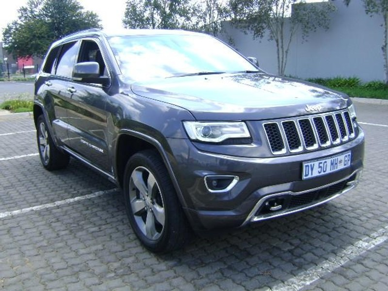 used jeep grand cherokee 3 6 overland for sale in gauteng id 1847196. Black Bedroom Furniture Sets. Home Design Ideas