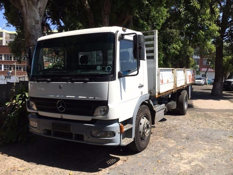 Used mercedes benz commercial atego 1317 48 for sale in for Mercedes benz commercial