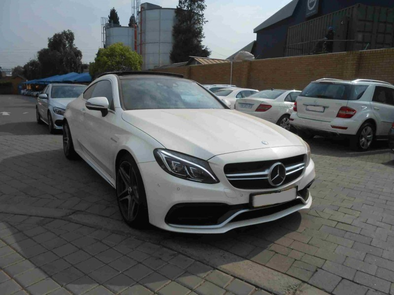 Used mercedes benz c class amg coupe c63 s for sale in for Mercedes benz c class used cars for sale