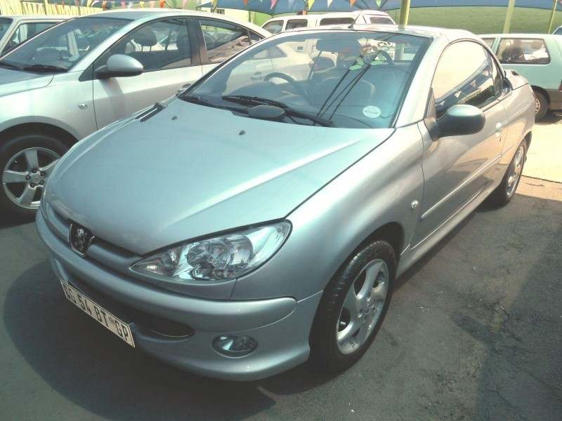 Used peugeot 206 1 6 coupe cabriolet for sale in gauteng id 1853071 - Peugeot 206 coupe cabriolet review ...