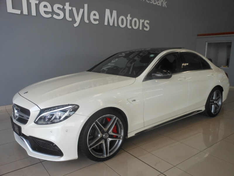 used mercedes benz c class c63 amg s for sale in gauteng id 1853099. Black Bedroom Furniture Sets. Home Design Ideas