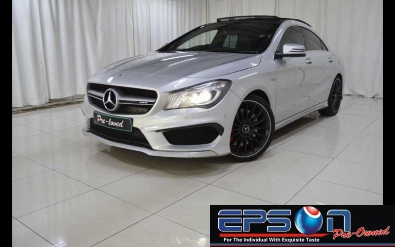 Used mercedes benz cla class cla45 amg for sale in gauteng for 2014 mercedes benz cla class cla45 amg