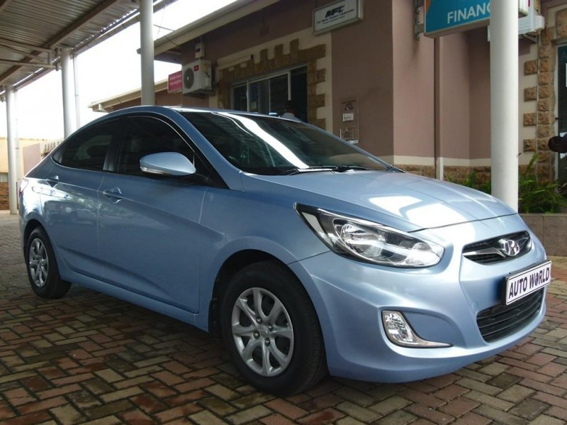 used hyundai accent 1 6 gls for sale in north west province id 1854890. Black Bedroom Furniture Sets. Home Design Ideas