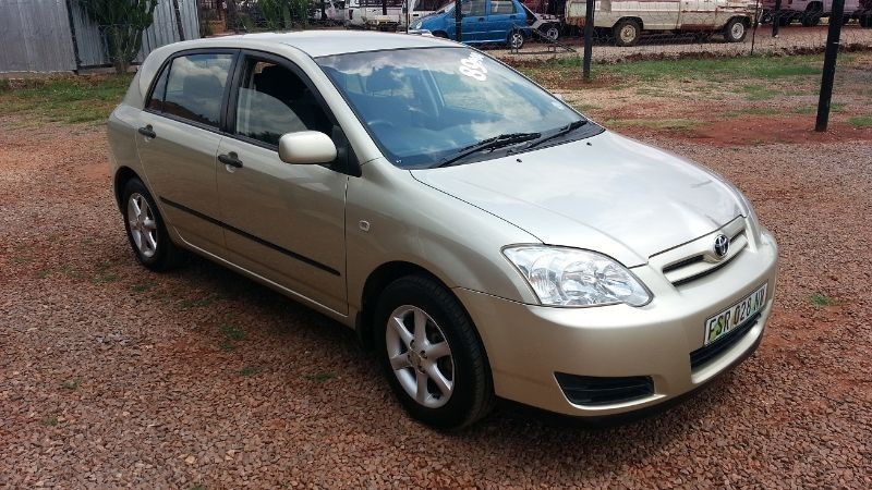 used toyota runx 140i rt for sale in gauteng