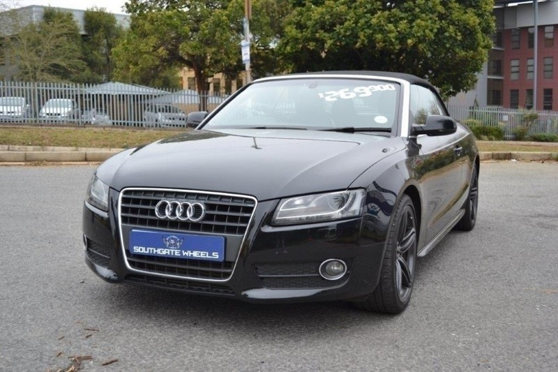 used audi a5 2 0 tfsi cabriolet mtronic for sale in gauteng id 1876610. Black Bedroom Furniture Sets. Home Design Ideas