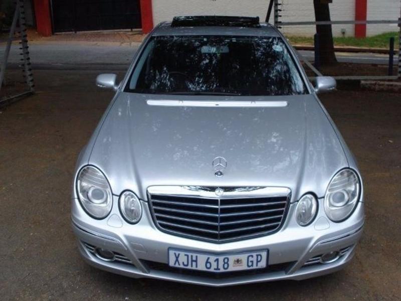 Used mercedes benz e class e 200 avantgarde for sale in for 2008 mercedes benz e class for sale
