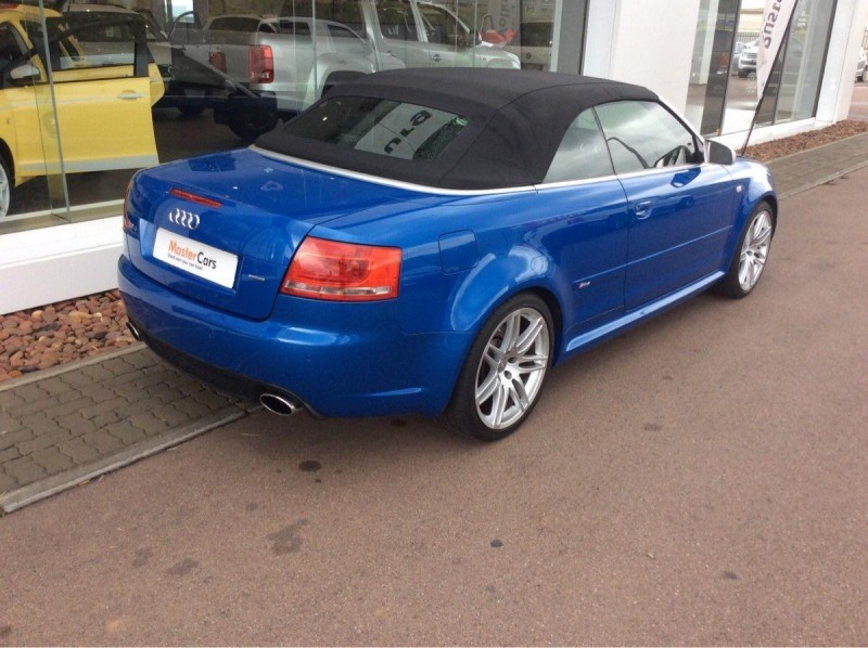 used audi rs4 quattro cabriolet for sale in north west province id 1883161. Black Bedroom Furniture Sets. Home Design Ideas