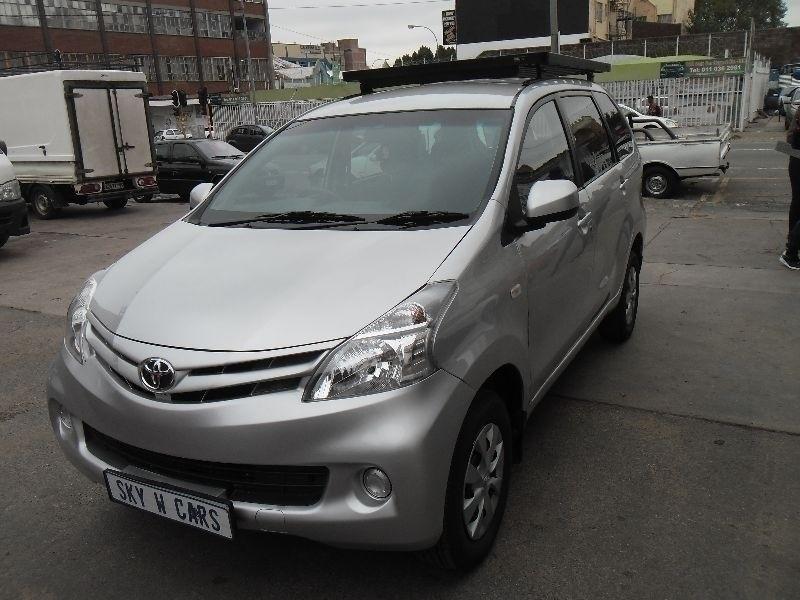 Used Toyota Avanza 1 5 Sx 2013 Model For Sale In Gauteng Cars Co Za Id 1884904