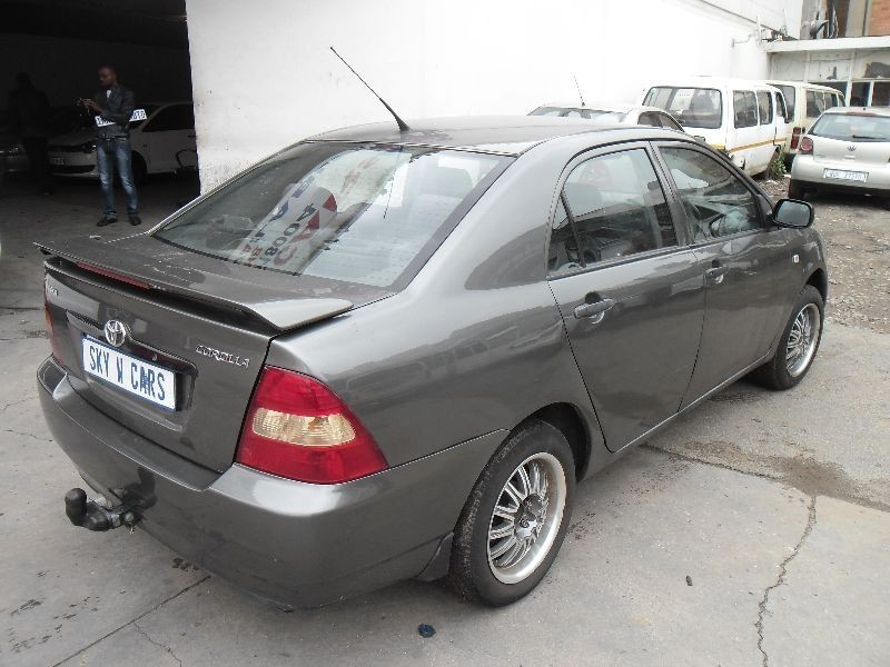 used toyota corolla 140i 2004 model for sale in gauteng id 1887115. Black Bedroom Furniture Sets. Home Design Ideas