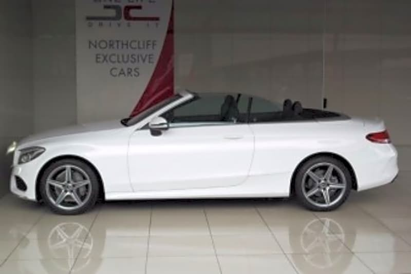 used mercedes benz c class c200 convertible amg auto for