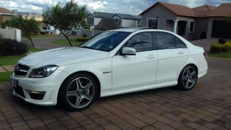 used mercedes benz c class c63 amg for sale in gauteng id 1892758. Black Bedroom Furniture Sets. Home Design Ideas