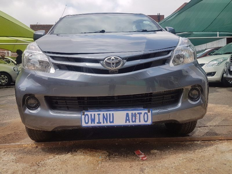 used toyota avanza 1 5 sx for sale in gauteng   cars co za id 1894755