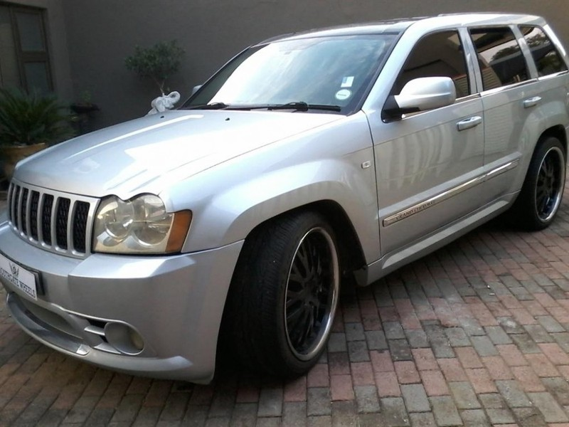 Used Jeep Grand Cherokee Srt8 For Sale In Gauteng Cars