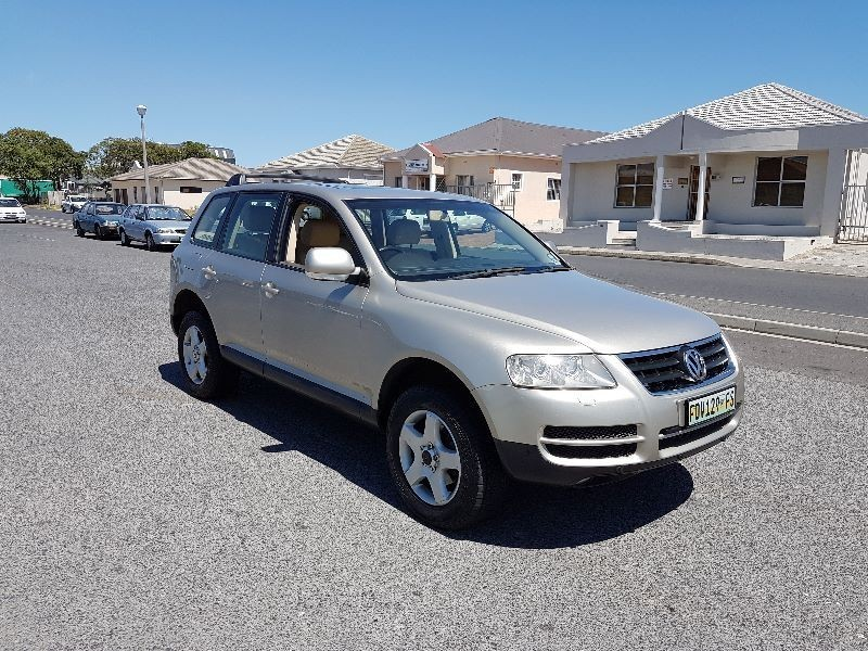 used volkswagen touareg r5 2 5 tdi for sale in western cape id 1899750. Black Bedroom Furniture Sets. Home Design Ideas