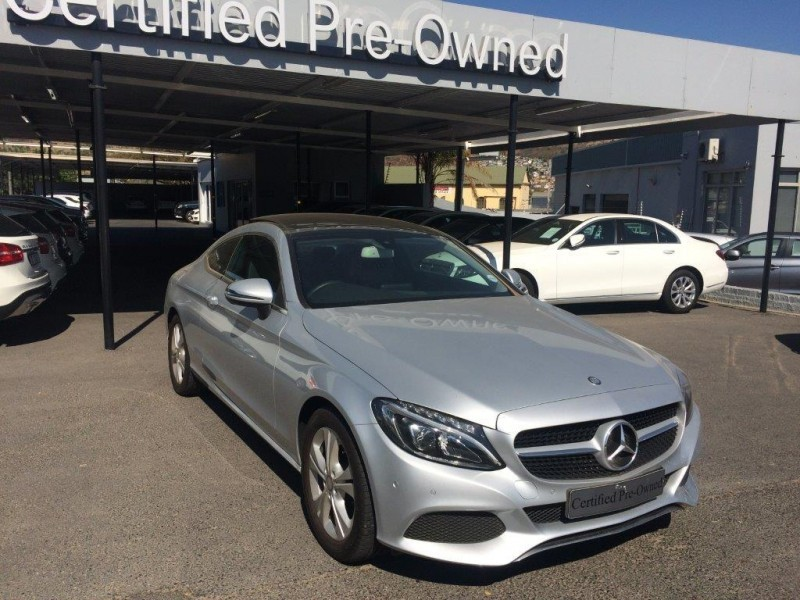 Used mercedes benz c class c220d coupe auto for sale in for Used mercedes benz c class coupe for sale