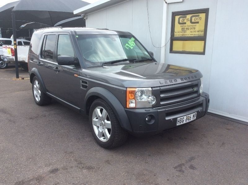 used land rover discovery 3 v8 hse a t for sale in gauteng. Black Bedroom Furniture Sets. Home Design Ideas
