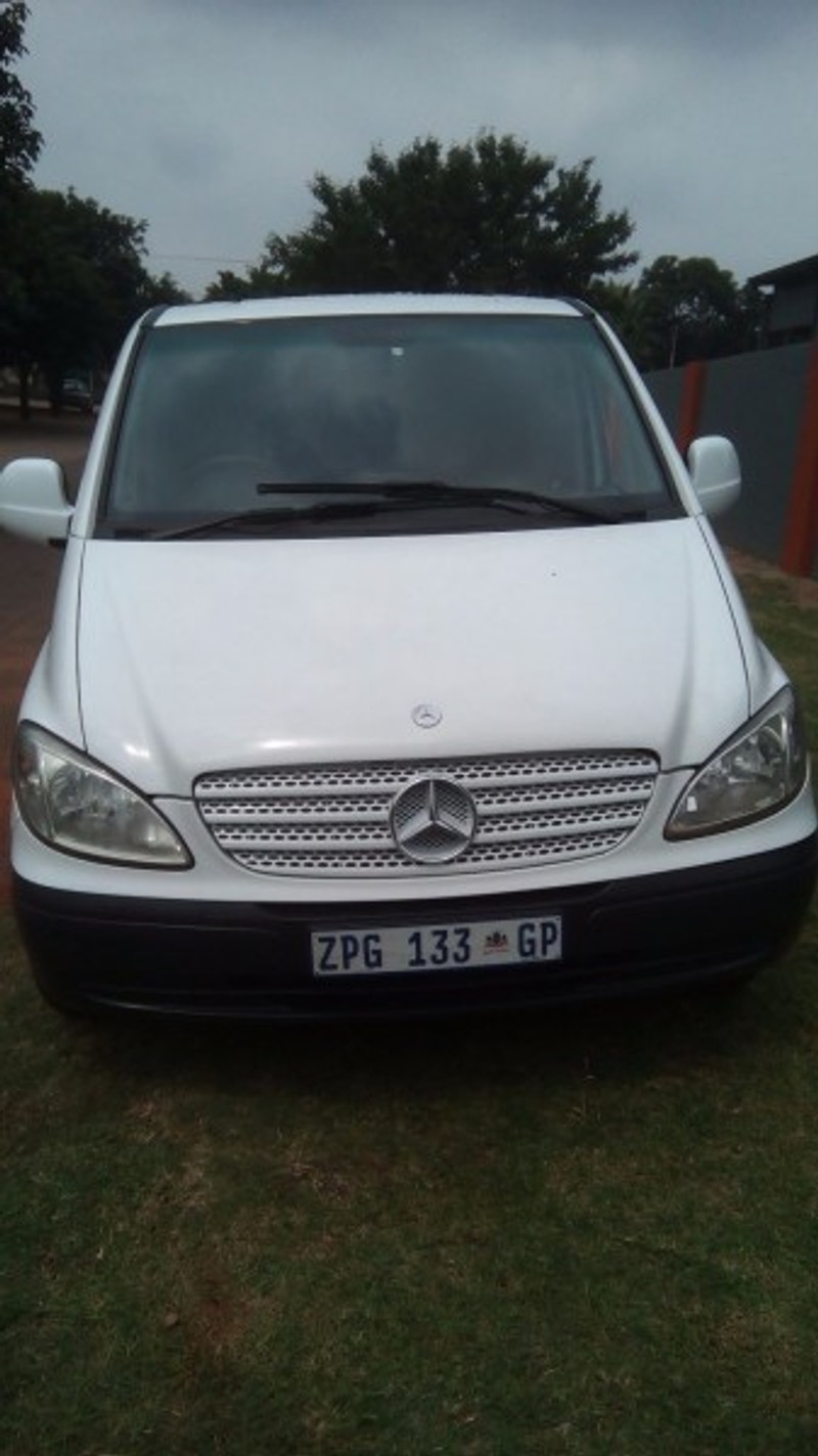 Used mercedes benz vito 115 2 2 cdi crew bus for sale in for Mercedes benz vito for sale