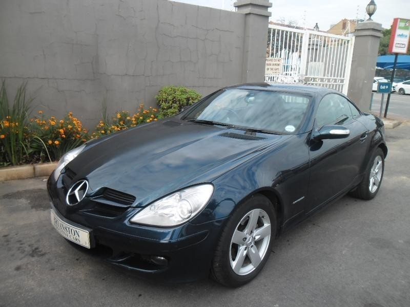 Used mercedes benz slk class slk 200 kompressor a t for for Mercedes benz blue window tint