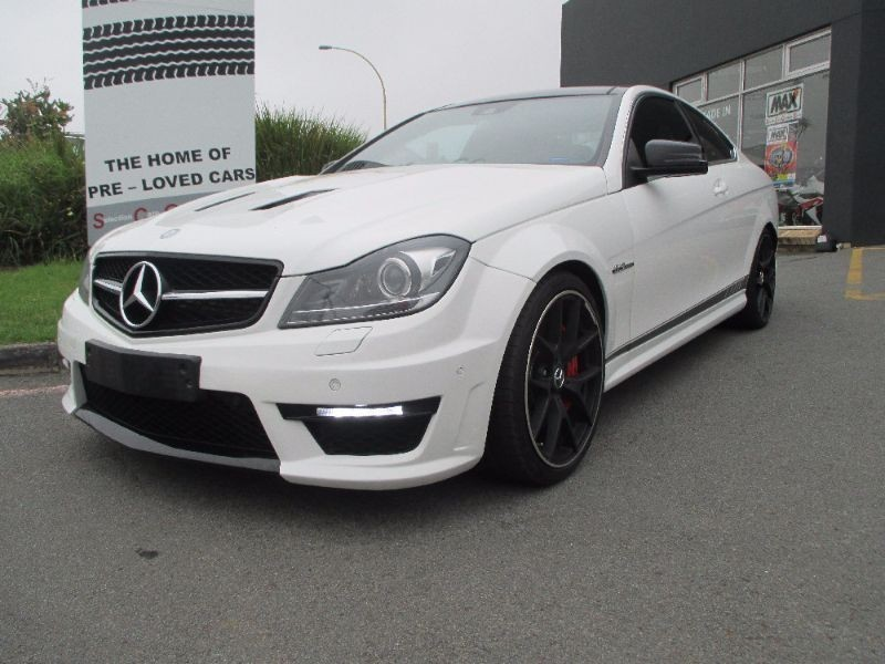 Used mercedes benz c class c63 amg coupe for sale in for Mercedes benz c class used cars for sale