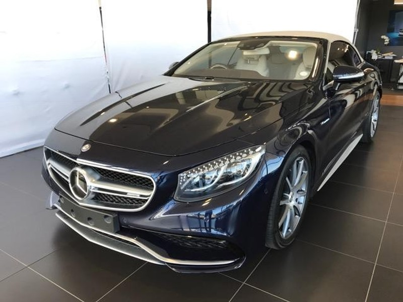 used mercedes benz s class amg s63 cabriolet for sale in western cape id 1907565. Black Bedroom Furniture Sets. Home Design Ideas