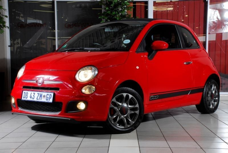 used fiat 500 1 4 sport cabriolet for sale in gauteng. Black Bedroom Furniture Sets. Home Design Ideas