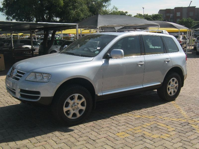 used volkswagen touareg 4 2 v8 tip for sale in gauteng id 1912842. Black Bedroom Furniture Sets. Home Design Ideas
