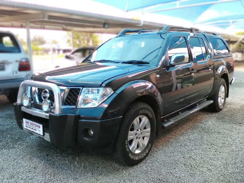 used nissan navara 4 0 v6 a t p u d c for sale in north west province id 1914537. Black Bedroom Furniture Sets. Home Design Ideas