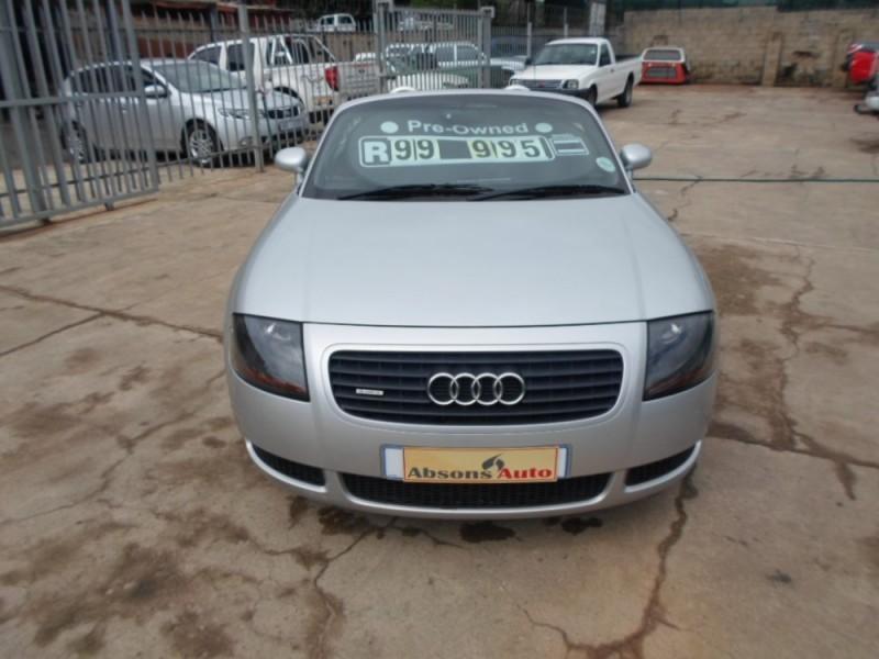 Used audi tt roadster quattro for sale in kwazulu for 2000 audi tt window motor