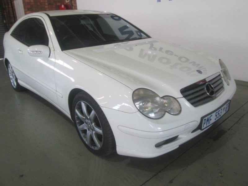 Used mercedes benz c class c230 kompressor coupe auto for for 2003 mercedes benz c230 kompressor