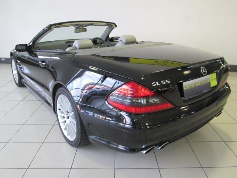 used mercedes benz sl class sl55 amg for sale in gauteng. Black Bedroom Furniture Sets. Home Design Ideas