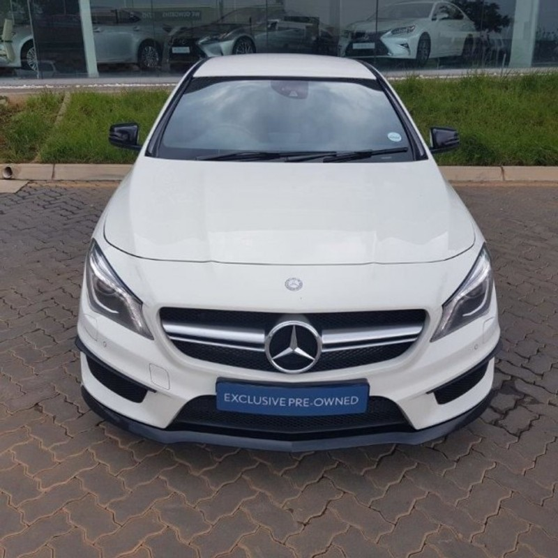 used mercedes benz cla class merc cla 45 amg for sale in gauteng id 1921925. Black Bedroom Furniture Sets. Home Design Ideas