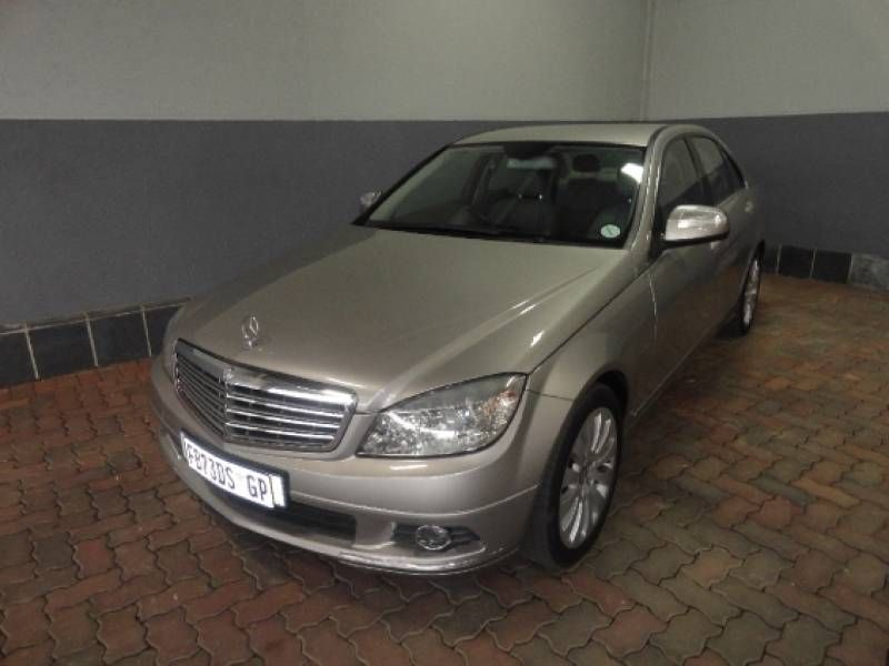 Used mercedes benz c class c200k elegance a t for sale in for 2008 mercedes benz c class for sale
