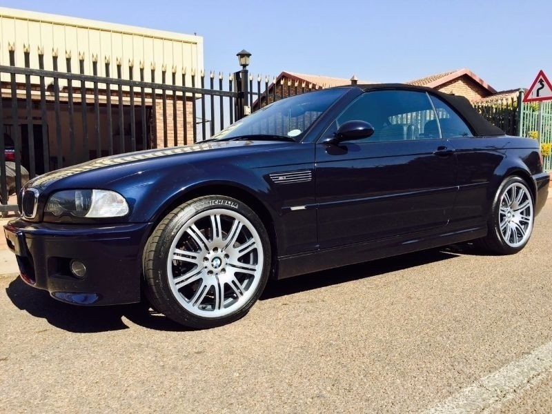 used bmw m3 convertible e46 for sale in western cape id 1924549. Black Bedroom Furniture Sets. Home Design Ideas