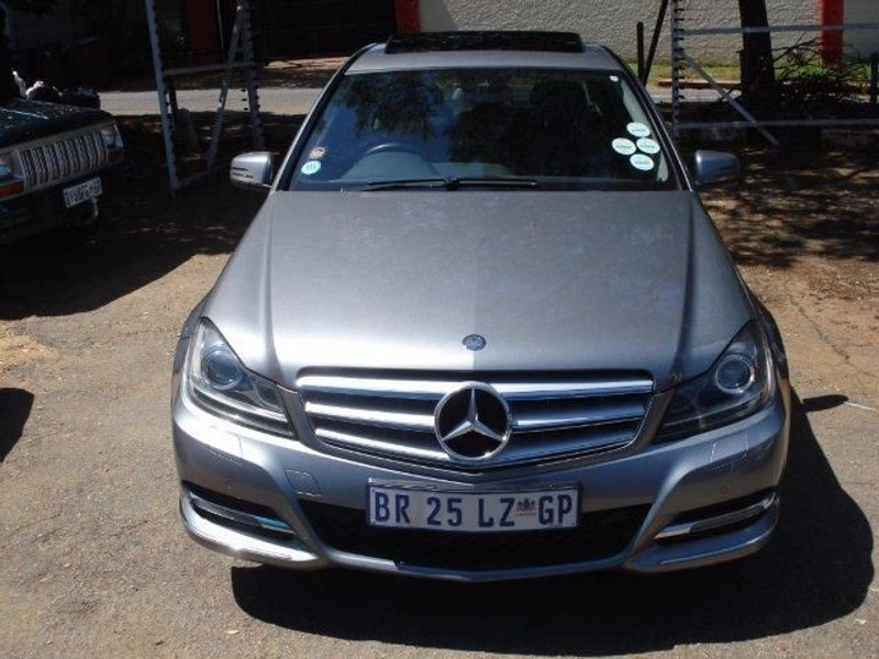 used mercedes benz c class c200 cdi avantgarde a t for sale in gauteng id 1925540. Black Bedroom Furniture Sets. Home Design Ideas