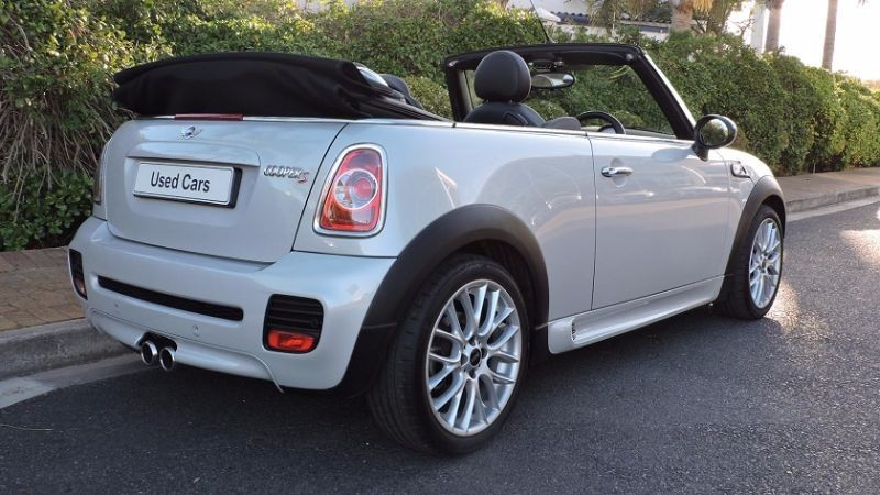 Used Mini Cooper S Convertible A T For Sale In Western