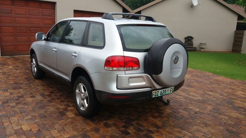 used volkswagen touareg r5 2 5 tdi tip for sale in gauteng id 1926577. Black Bedroom Furniture Sets. Home Design Ideas