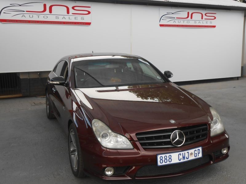 Used mercedes benz cls class cls 63 amg for sale in for Mercedes benz cls 2007