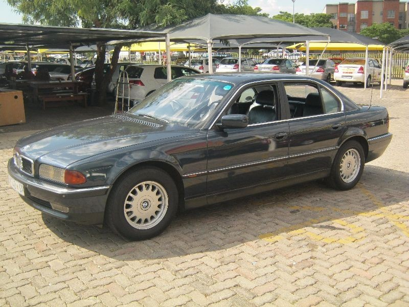 used bmw 7 series 740i a t e38 for sale in gauteng id 1927985. Black Bedroom Furniture Sets. Home Design Ideas