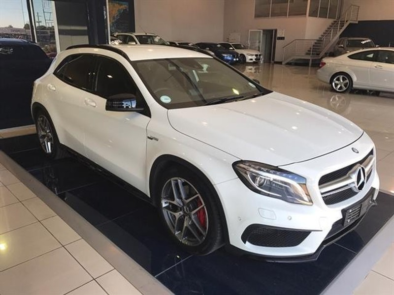 used mercedes benz gla class 45 amg for sale in gauteng id 1929075. Black Bedroom Furniture Sets. Home Design Ideas