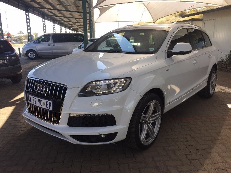 used audi q7 4 2 tdi v8 quattro tip for sale in gauteng id 1933085. Black Bedroom Furniture Sets. Home Design Ideas