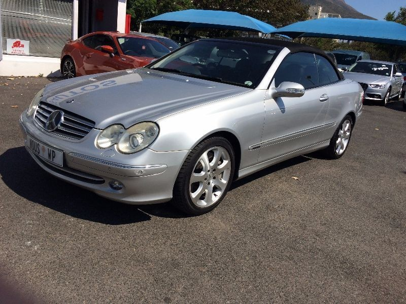 Used mercedes benz clk class clk 500 cabriolet for sale in for 2003 mercedes benz clk500 for sale