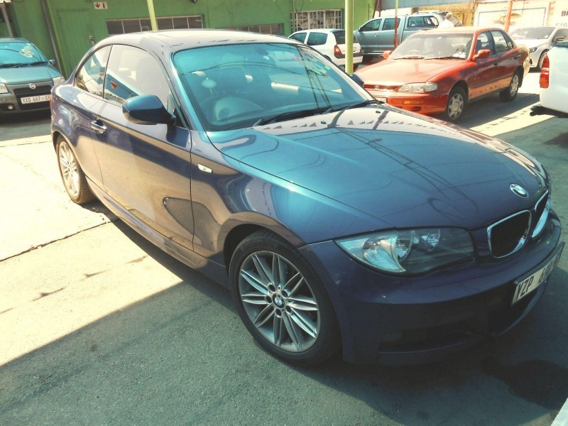 used bmw 1 series 120d coupe a t for sale in gauteng. Black Bedroom Furniture Sets. Home Design Ideas