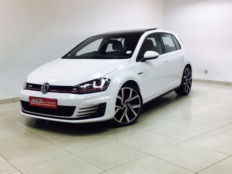 used volkswagen golf 7 gti dsg performance pack 72000kms. Black Bedroom Furniture Sets. Home Design Ideas