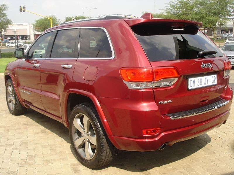 used jeep grand cherokee 5 7 v8 overland for sale in gauteng id 1938519. Black Bedroom Furniture Sets. Home Design Ideas